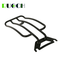 For Harley Touring Solo Seat Luggage Rack Shelf Support Rear Fender Road King 1997-2005 Motorcycle Accessories motorcycle accessories rear fender rack support shelf luggage carrier rack fit for yamaha xt250 serow 1985 2005