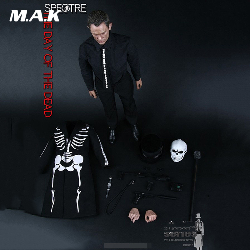 For collection 1/6 BB9007 Daniel Craig James Bond Model Action Figure Doll Full Set Figure gift for collector new hot 18cm one piece donquixote doflamingo action figure toys doll collection christmas gift with box minge3