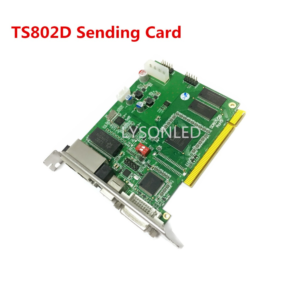 LINSN TS802D Sending Card , Full Color LED Video Display  LINSN TS802 Sending Card