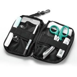 Image 2 - Açık ilk yardım acil çanta ilaç hap kutusu ev araba hayatta kalma kiti Emerge kılıf küçük 900D naylon kese