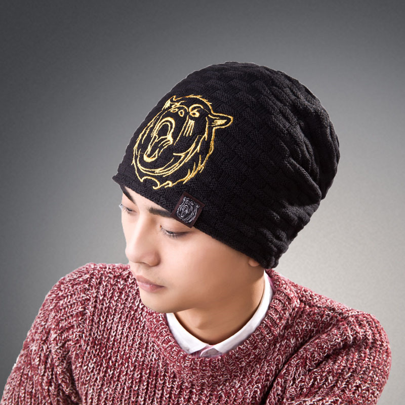 2017 New arrived warm hat cap Skullies Beanies winter Knitting Hats for men headdress Knitted Caps chapeu gorros unisex letter dragon winter hats skullies beanies men woman beanie knitting hat knitted cap new design invierno bonnets gorros
