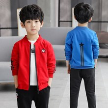 Boys jacket spring autumn 2019 new children and casual in the big childrens clothing boy baseball uniform