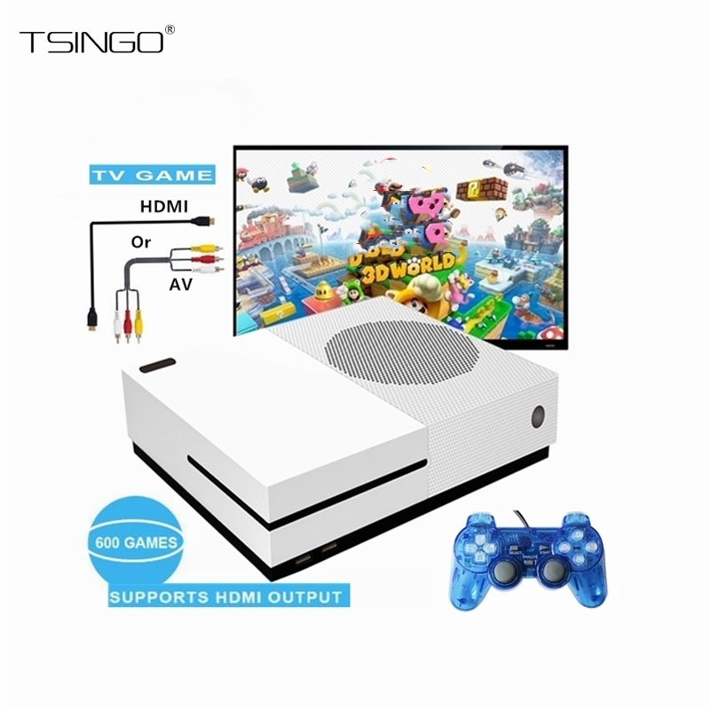 TSINGO Built-In 600 Classic Games TV Video Handheld Game Playe HDMI Output Family TV Video Game Console 4GB Video Gaming Players nintendo gbc game video card pokemons classic collect classic colorful edition