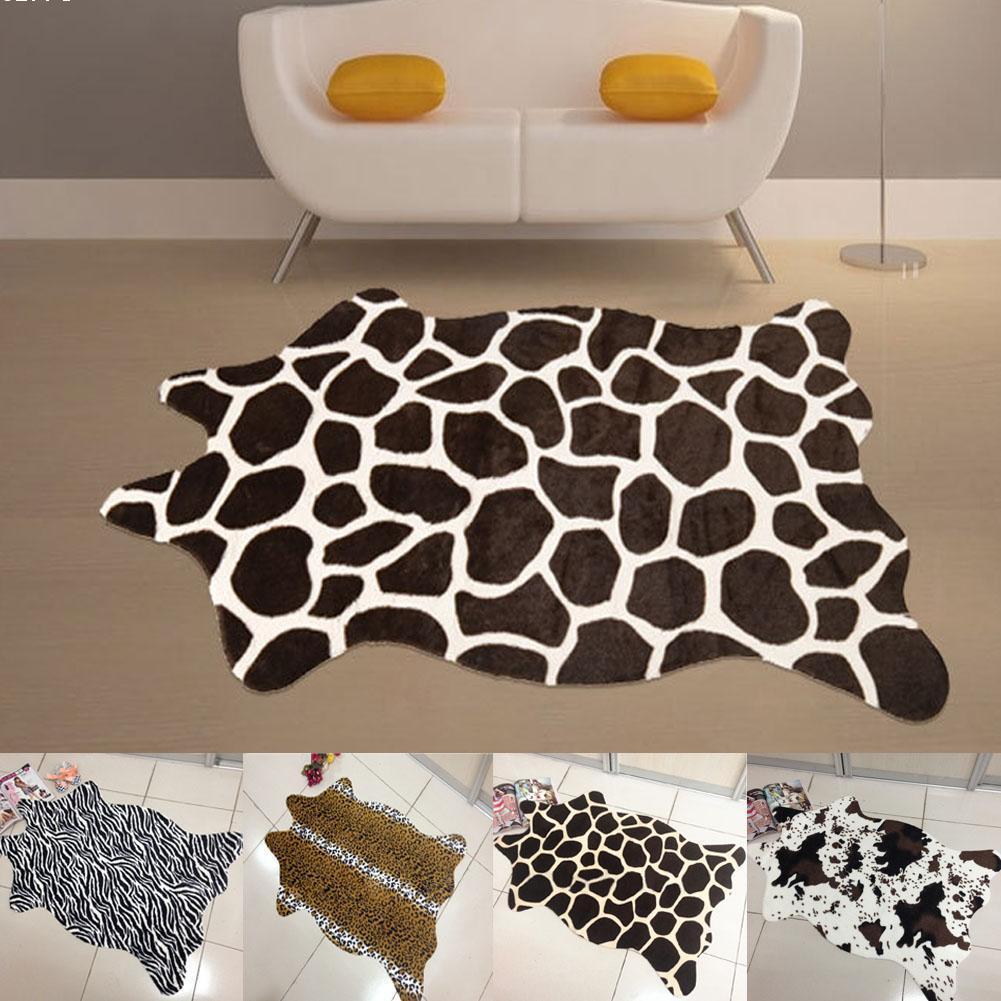 Compra estampado de cebra alfombra online al por mayor de - Alfombras animal print ...