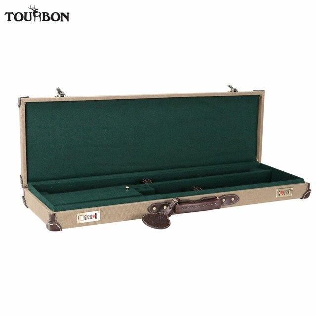 Tourbon Tactical Universal Gun Case Bag Slip Hunting Gun Storage Rifle Shotgun Carrier with Lock Gun Accessories