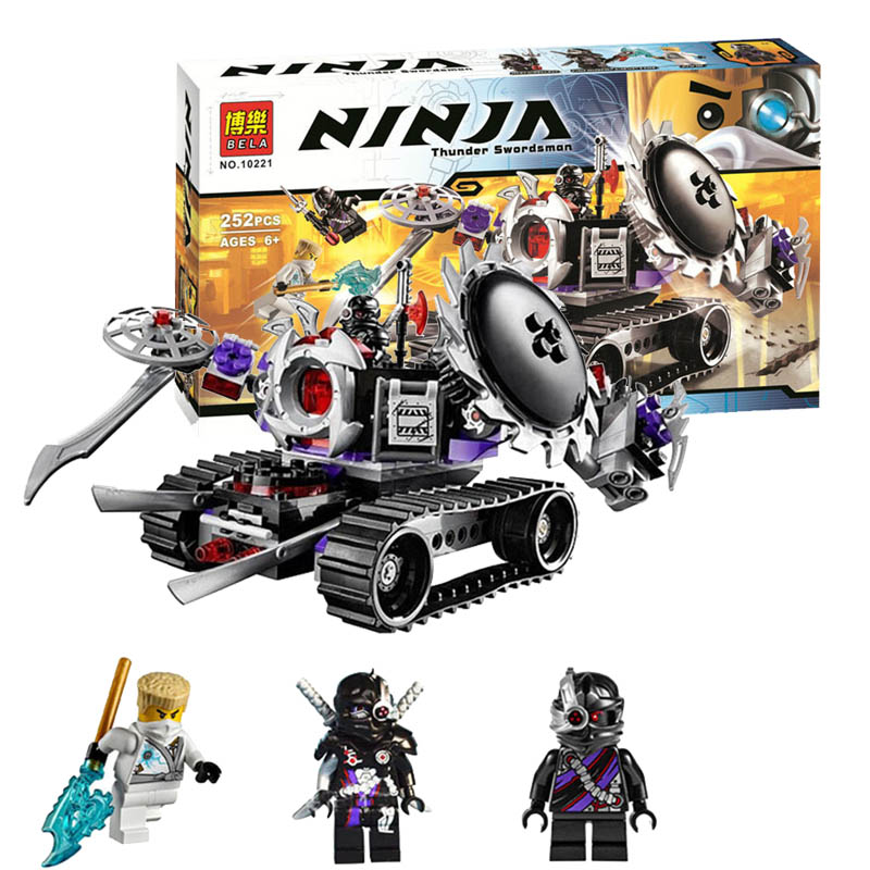 10221 phantom rebooted ninja destructoid building block sets educational diy bricks assembled toys for children