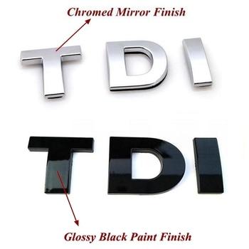 цена 1pcs/lot ABS TDI Emblem Badge Sticker онлайн в 2017 году