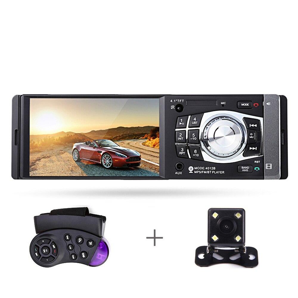 4012B 1Din autoradio 4.1Inch Bluetooth 1 Din Auto Audio Stereo-speler - Auto-elektronica
