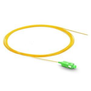 Image 4 - 1.5m SC APC fiber pigtail Simplex 9/125 G657A Single Mode  Fiber Optic FTTH Pigtail