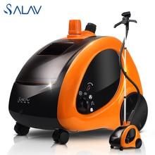 SALAV 1.4L 1500 W Ropa de Prendas de vestir Vapor GS29-CN 45 s Rápido Calor Hasta 4 Configuraciones De Energía Vertical Generador De Vapor De Hierro