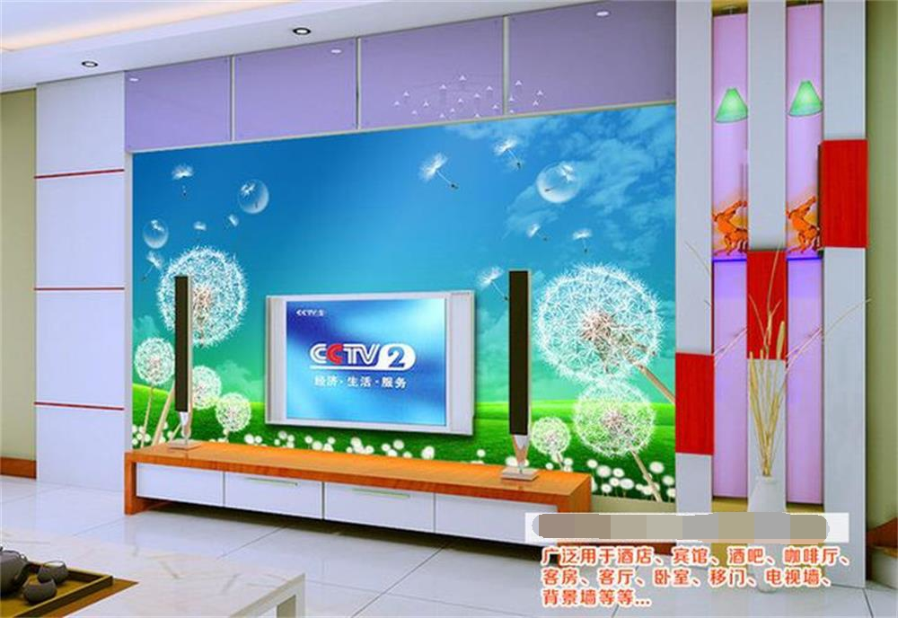 3D wallpaper custom photo wall paper Dandelion blue sky background wall TV. Popular Blue Sky Tv Buy Cheap Blue Sky Tv lots from China Blue Sky