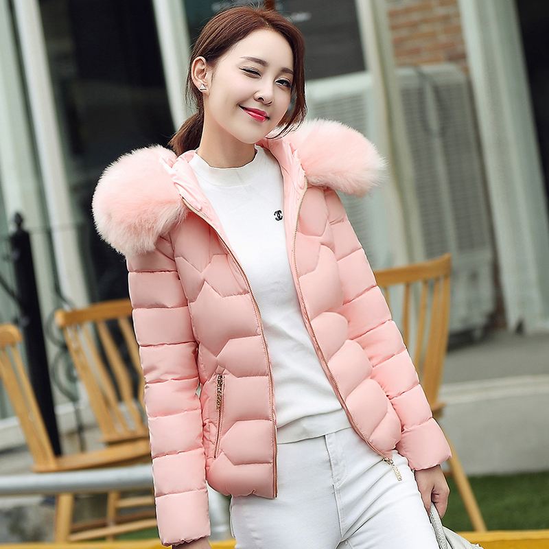 Women's Clothing Autumn/winter Womens Coat Short Jacket Cotton Liner Outerwear Down Jacket Womens Parkas Slim Womens Clothing Light Jacket Jackets & Coats