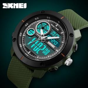 Image 4 - SKMEI New Outdoor Sports Watches Luxury Brand Digital Quartz Watch Men Waterproof Military Army Wrist Watch Relogio Masculino