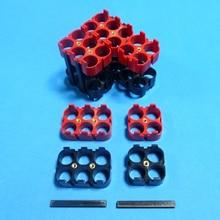 Support de batterie au lithium ion EV car 18650 4 P/6 P matériau: ABS + PC support de batterie 18650 de haute qualité pour batterie de grande puissance