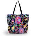 2016 Saco de Compras Dobrável Mulheres Shopping Bag Shoulder Bag Lady Bolsa Pouch Bolso Fechamento Com Zíper Sacola de Compras SB-2972