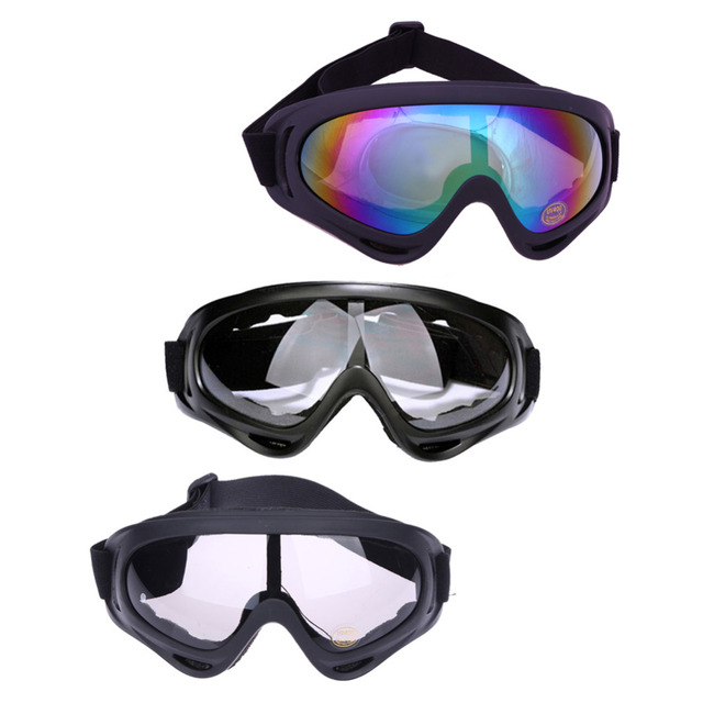 New Motor Outdoor Sports Goggles Glasses for Unisex Protector Wind and Dust Motorcycle Motocross Glasses Dirt Protection