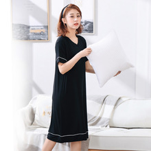 4xl -6xl Plus Size  Women Night Dress Sleepwear Clothes Nightgown 1070
