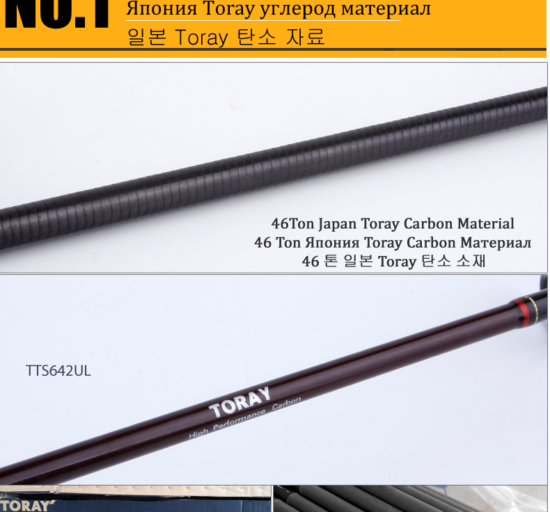Kuying teton 1.8m 1.9m 1.92 ul ultraleve
