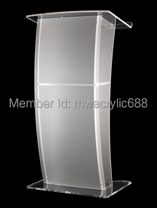 Free Shipping High Quality Price Reasonable CleanAcrylic Podium Pulpit Lectern  free shipping hoyode monterrey price reasonable acrylic podium pulpit lectern