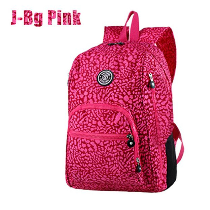 Preppy Style Women Backpack Waterproof Nylon Backpack 10 Colors Lady Women's Backpacks Female Casual Travel Bag Mochila Feminina купить