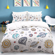 Bedding three-piece set of 2/3 family kit King size Quilt pillowcase Two pieces down quilt without bed linen home  textile