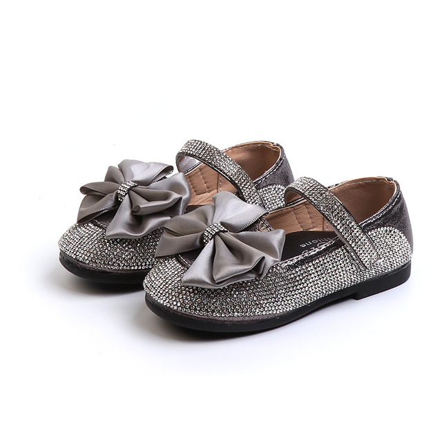 f0824f642 Baby Toddler Girls Gold Silver Glitter Sparkle Party Ballerina Flats ...