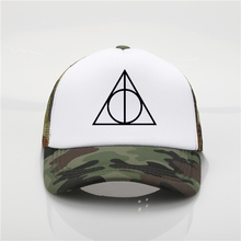 e13e73c4cb4 Fashion hat For Harri Potter Fan HP Harry Hogwarts Deathly Hallows Baseball  Caps The New men. 9 Colors Available
