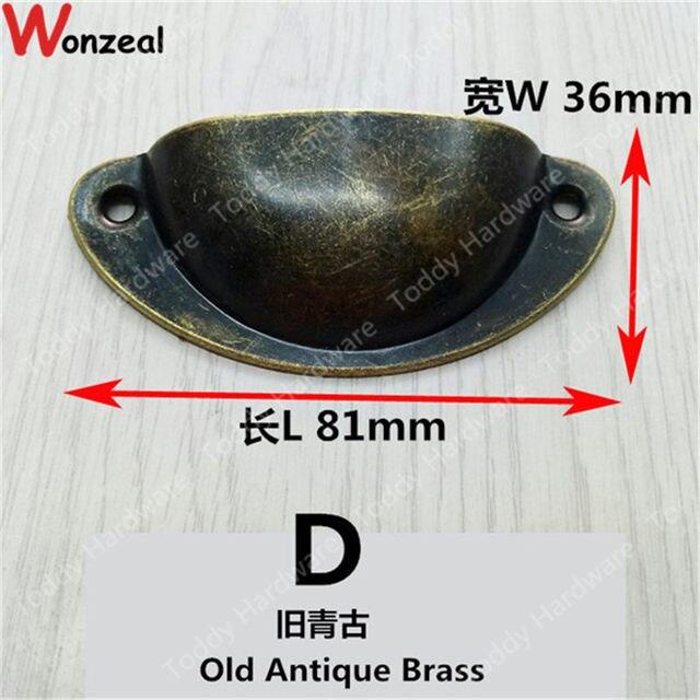 online shop furniture handle length 81mm 50mm antique drawer shell