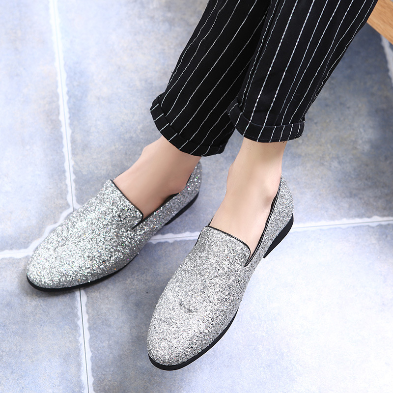 2018 New Fashion Men's Hairstylists chaussures en cuir mocassins - Chaussures pour hommes - Photo 5