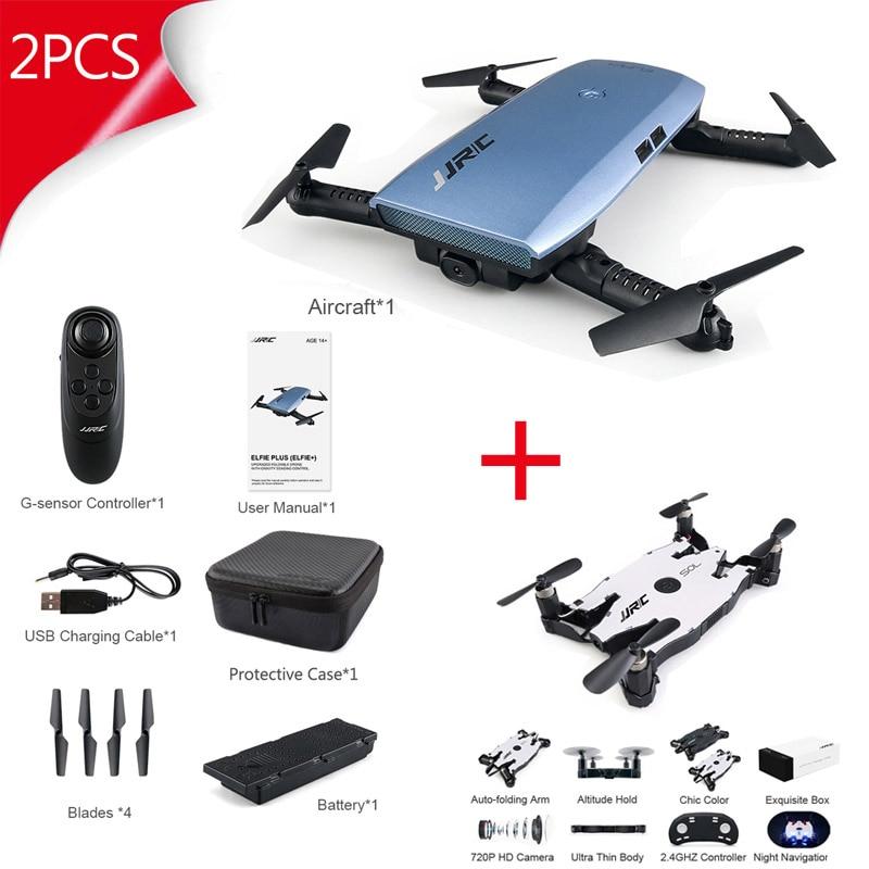 2 pz Grande Vendita! JJRC H47 e H49 Combo Drone FPV Da Corsa R2 Robot w/H49 Follow Me Pieghevole Braccio Set RC Quadcopter robot