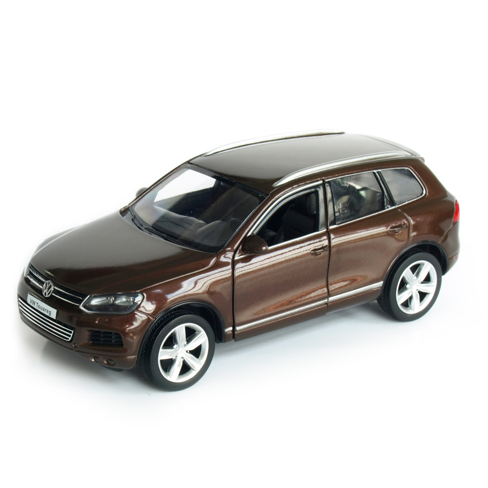 R Touareg SUV 1:36 Toy Vehicles Alloy Pull Back Mini Car Replica Authorized By The Original Factory Model Toys Collection Kids
