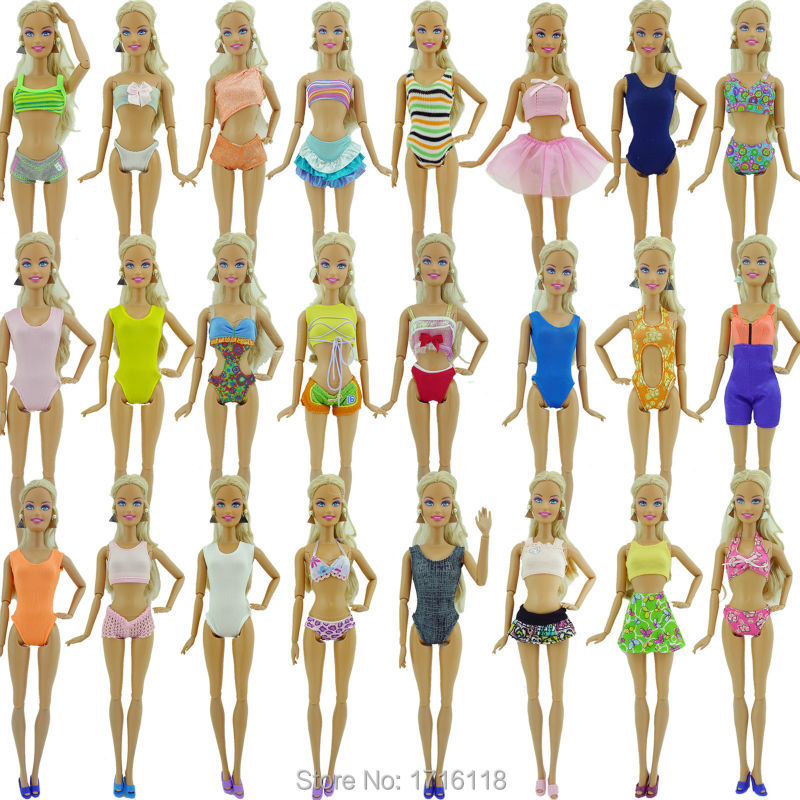 Random 6 x Bikini Trajes de baño Nadar Desgaste Del Verano Ropa de Playa de Baño