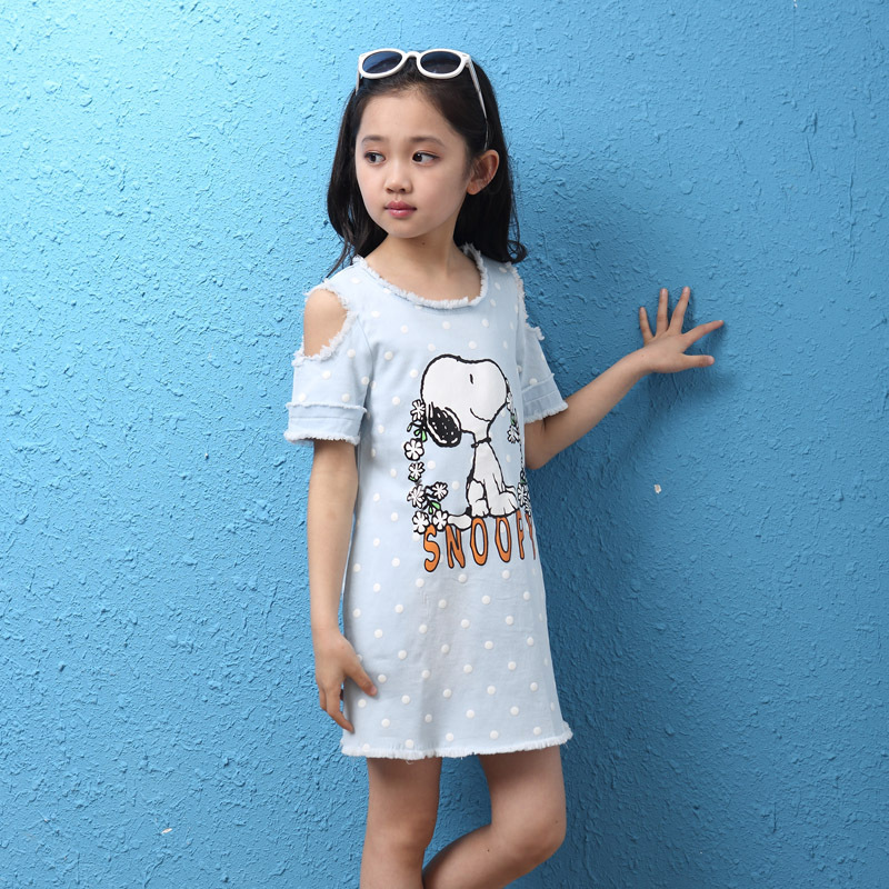 New Arrival Mini Sexy Baby Girls Dress Summer Style 4 12 -6476