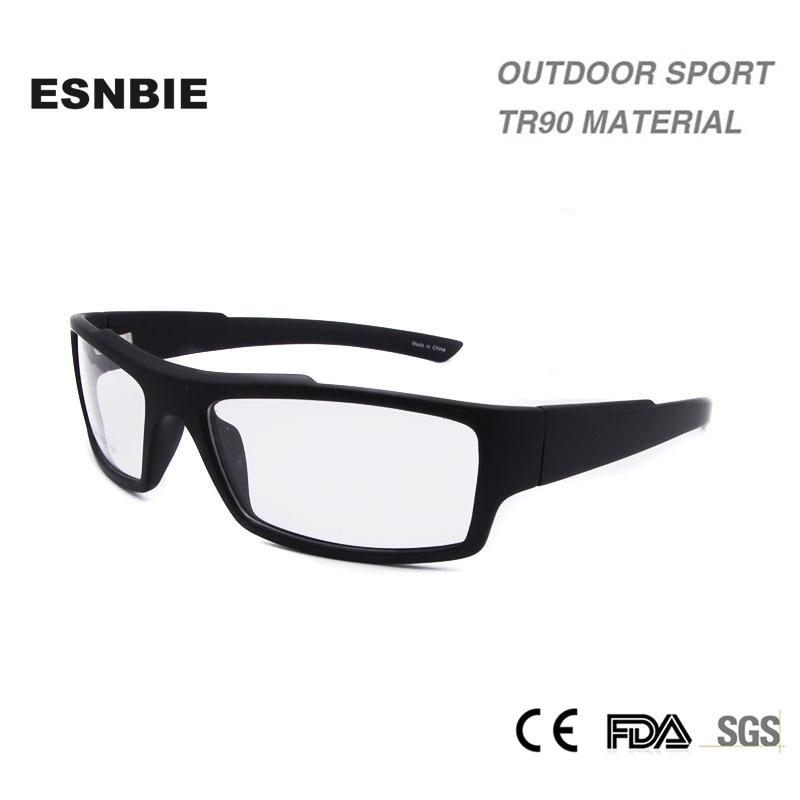 ESNBIE išvalyti stiklų rėmeliai vyrams smonturas de lentes Hromre Man TR90 Medžiagų receptinių rėmelių akinių rėmeliai