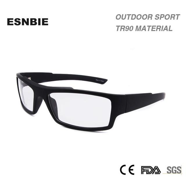 Esnbie claro Gafas Marcos s mens smonturas de lentes hombre tr90  prescripción de materiales Marcos ojo 34a74faec2