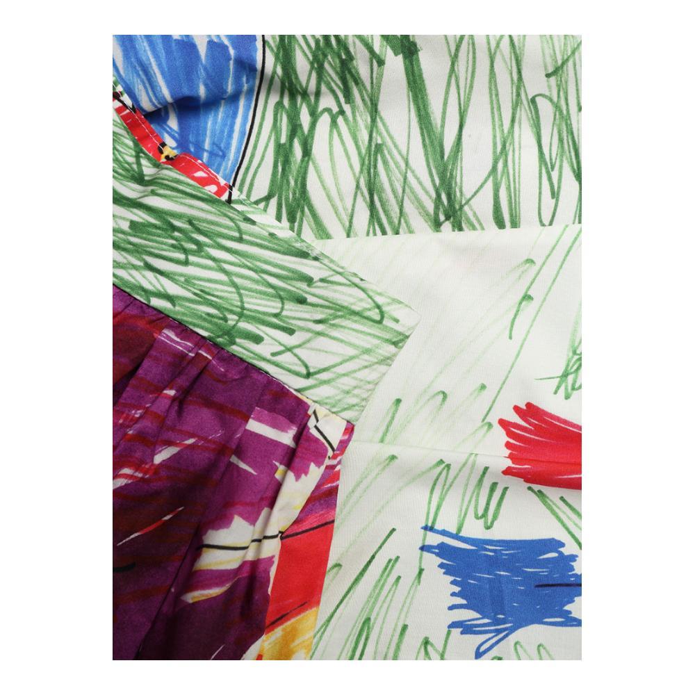 Doodles Plisado Tamaño longitud Femininas Infantil Falda Rodilla 2018 Llegada Impreso Personalizado Multiple Saia Nueva Faldas Más Yx8PIw