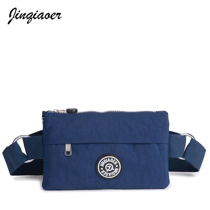2018 Fashion Women Waist Packs Female Casual Functional Fanny Bag Waist Bag Money Phone Belt Bag Cute Purse JQ071/q
