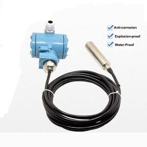 Image 3 - 4 20mA Ebene Sender Elektrische Immersion Hydrostatische Flüssigkeit Level Sensor Instrument/Investition Typ Level Control WLI100