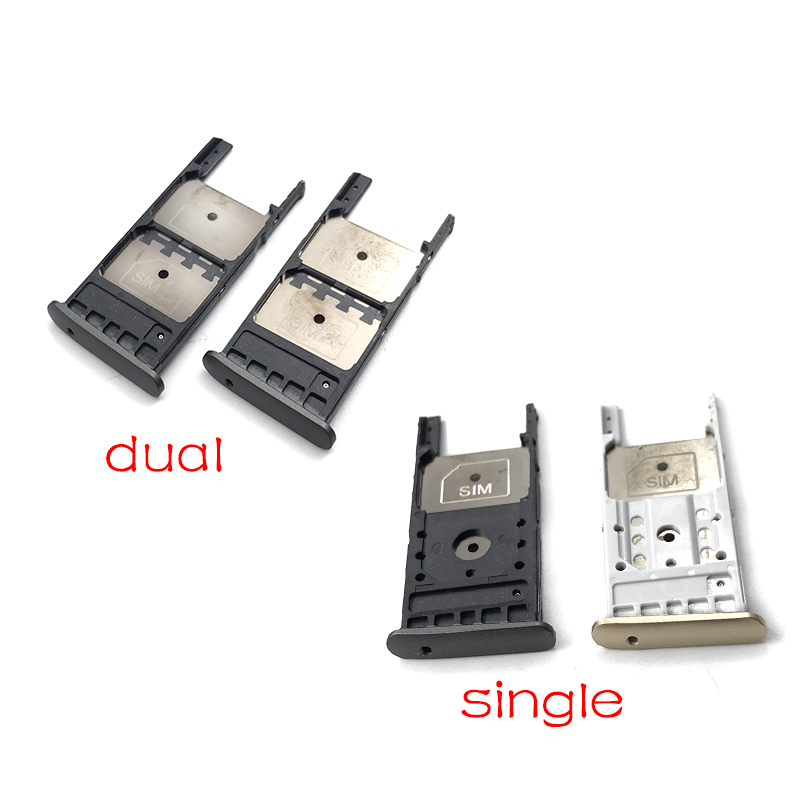 SIM Card Tray + Micro SD Card Tray For Motorola Moto G5 Plus Dual & Single SIM Card Tray Slot Holder