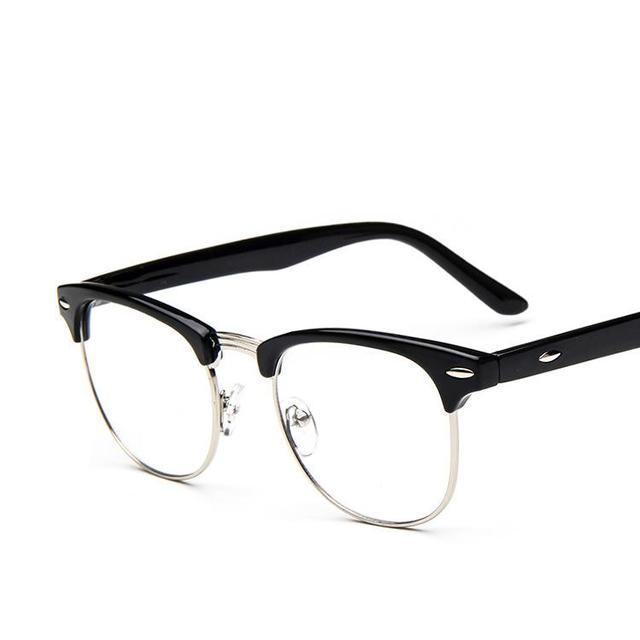 05b3f85522a4fe Verre Cadres Pour Hommes Rétro 2017 Marque Coréenne Style Métal Montures de  lunettes Pour Homme Femmes