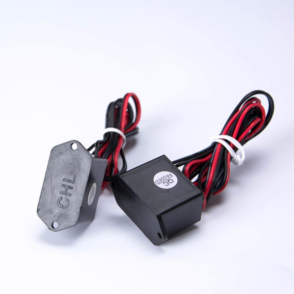DC 12V EL Wire Inverter Red Black Cable Neon Glow Strip Light Driver ...