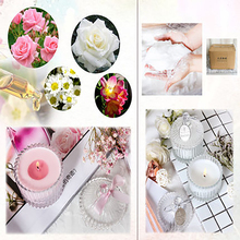 Imported Natural Essential Oil Scented Candles Wedding Making Supplies Weding Decoration Decoracion Birthday Party Home WZE017