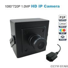 Onvif 1.0 Mega pixels Mini IP Camera 25 fps 720P Security HD Network CMOS Sensor Camera 3.6mm  Support Phone Android IOS P2P Hot