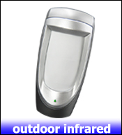 1- wired infrared detector