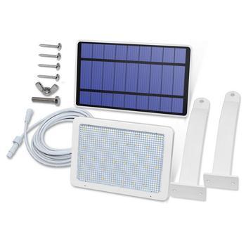 Прямая поставка, 3 м линия, солнечный свет, садовая панель, светодиодный прожектор, безопасность, солнечная энергия, PIR датчик движения, свето...
