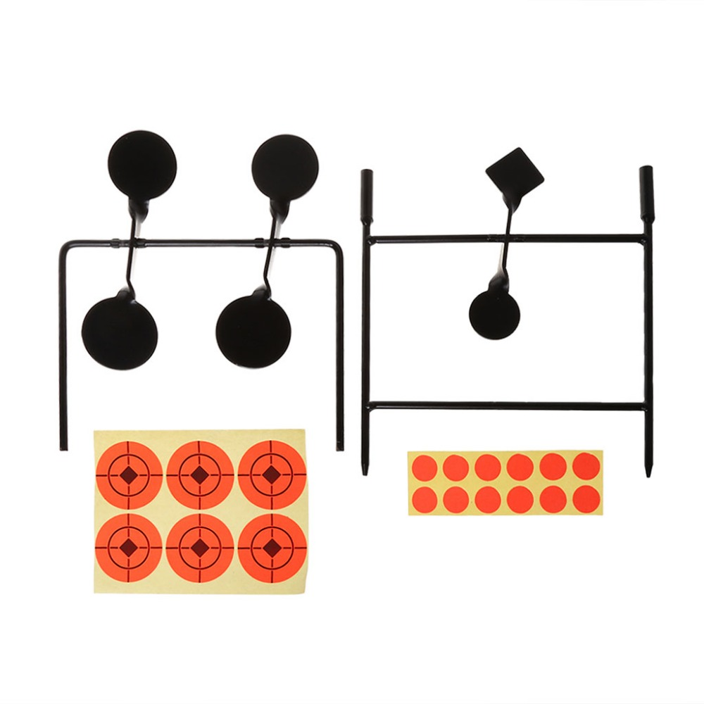New Shooting Target Automatic Rotating Outdoor Hunting Objective Reset Stand Shot Practice Rack Accessories