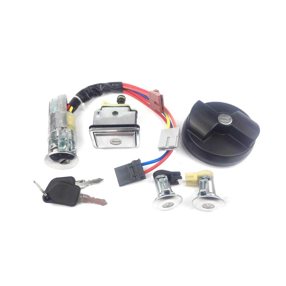 medium resolution of  ignition switch with key for peugeot 405
