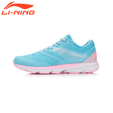 Li-Ning Femmes Puce Chaussures de Course Amorti Sneakers Original Doublure Rouge Lapin Série Respirant Sport Chaussures ARBK086
