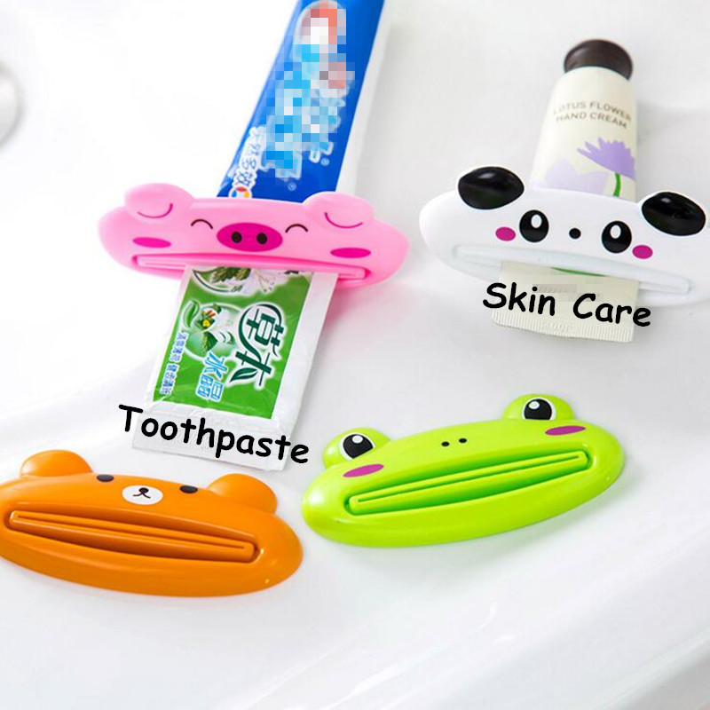 1PCS Creative Cute Animal Multifunction Toothpaste Dispenser Toothpaste Squeezer Gels Cream Lotion Squeezer #707