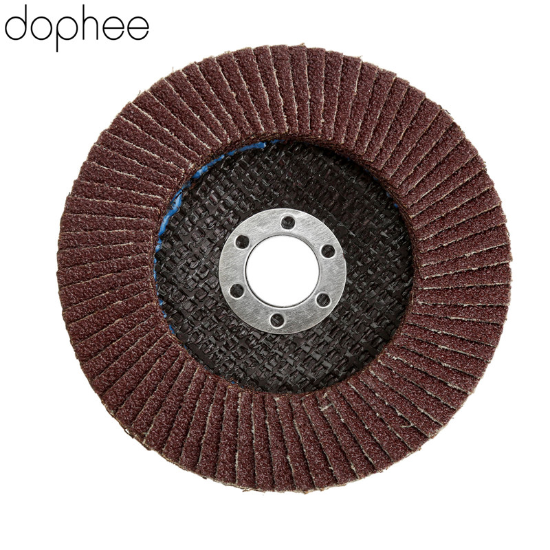 Dophe 100mm Sandpaper Sanding Flap Discs Grit 60 Polishing Grinding Wheels Discs For Angle Grinder Rotary Tool Dremel Accesories